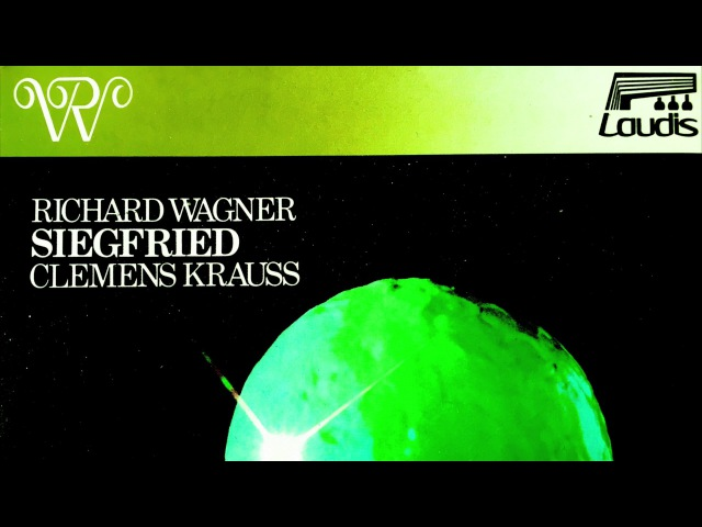 Wagner - Siegfried Opera / Ring (Windgassen - recording of the Century : Clemens Krauss)