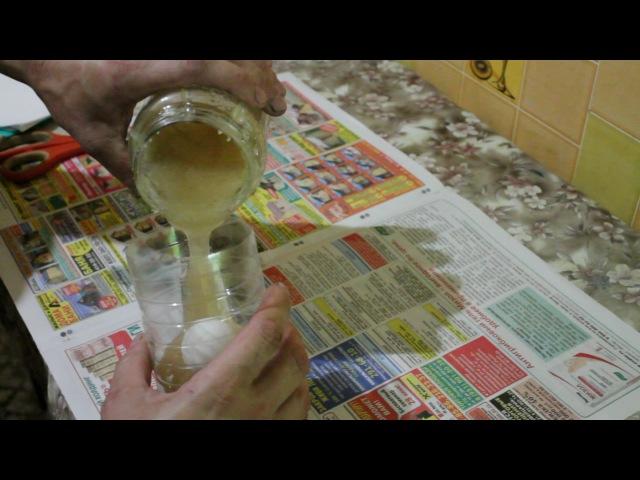 Изготовление формы из желатина и глицерина для литья искусственного камня