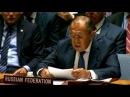 Выступление Сергея Лаврова в ООН вызвало бегство Порошенко и вице президента США из зала