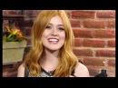 Katherine McNamara's Interview for Channel One