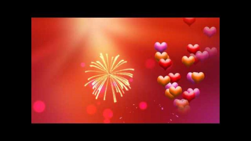 Футаж сердечки 2