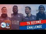 76 Second Basketball Challenge Patrick van Aanholt, Bakary Sako, Martin Kelly and Luka Milivojevic