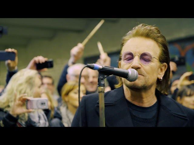 U2 - U-Bahn Surprise Gig Berlin (06.12.2017)