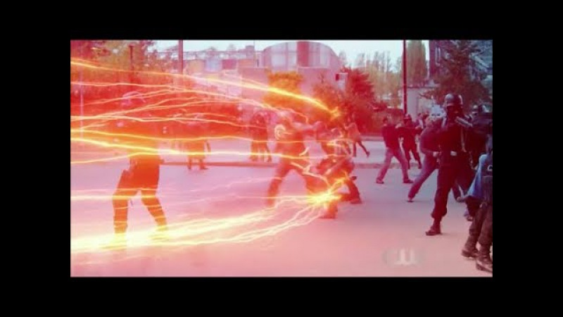 The Flash VS The Reverse Flash [Legends of Tomorrow 3x08 Crisis on Earth-X]