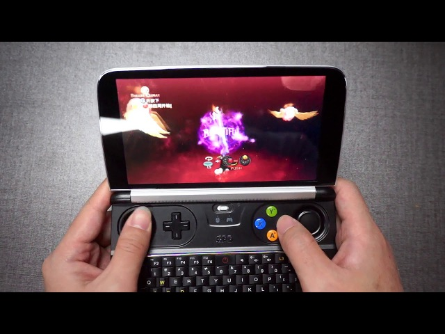 GPD WIN 2 RUNS GAME Bayonetta