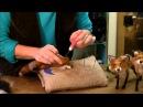 How to Needle Felt Animals Fox Series 7 Ears by Sarafina Fiber Art