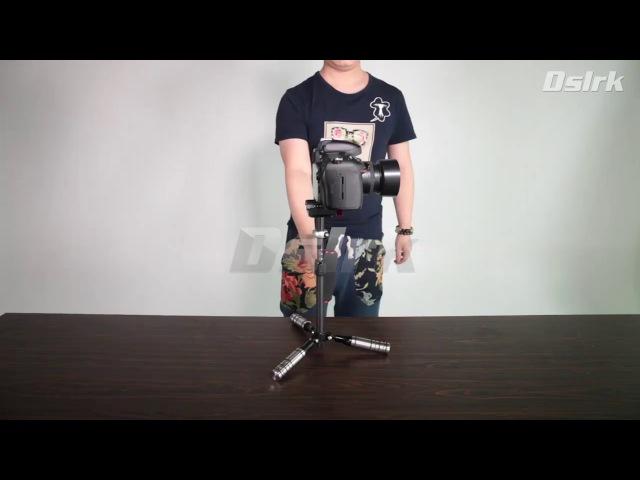 Ashanks 0.5-3KG Pro Handheld Stabilizer Mini Cam Carbon Fiber Tripods for DSLR or Camcorder camera
