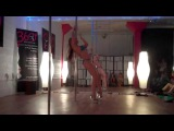 Jamie Taylor Pole Dance IAMX