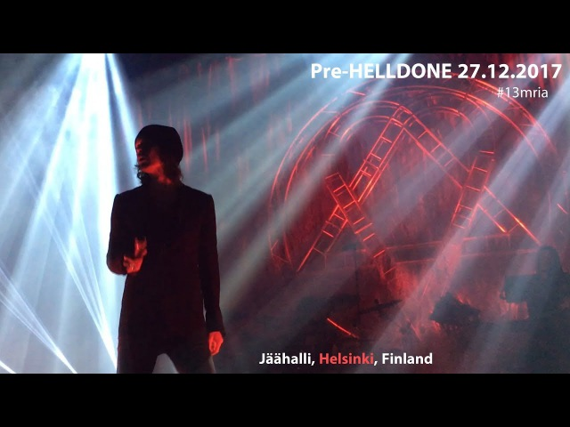 HIM – Right Here in My Arms @ Jäähalli, Helsinki 27.12.2017