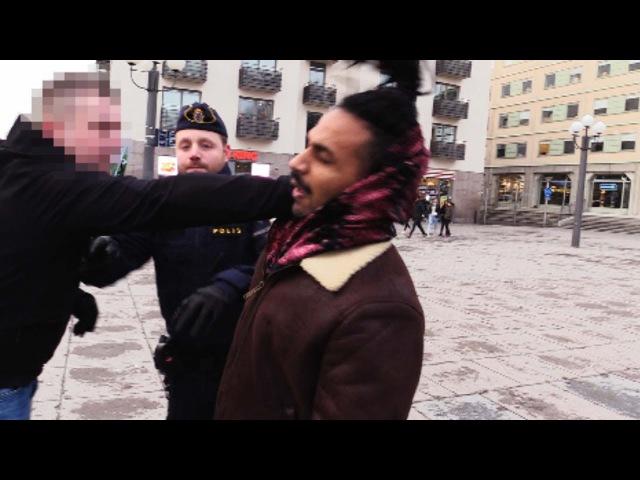 Tumult på Medborgarplatsen - Motståndsrörelsen på Stockholms gator 2/12-17