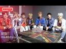 BTS Talk About Famous People, Fav Apps, Karaoke Songs, America. Part 1