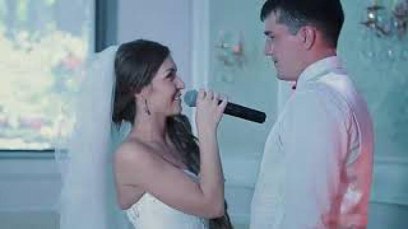 Невеста поет на свадьбе Песня жениху мужу Кавер Тимати и Егор Крид Где ты где