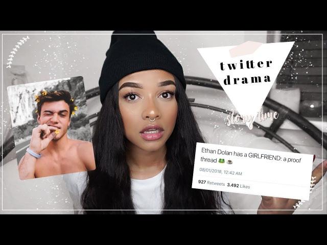 I'm Dating Ethan Dolan? Twitter Drama Explained.