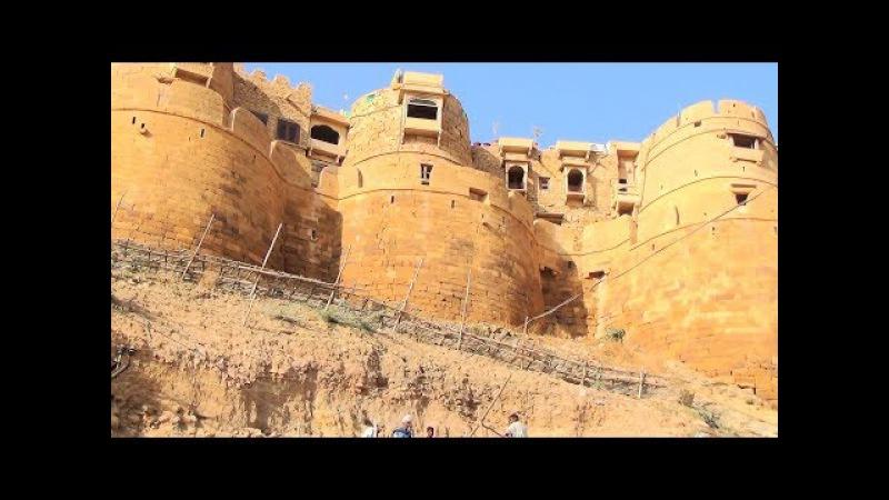 Das Entre` zur goldenen Stadt in der Wüste Thar Teil 1 Rajastan Indien