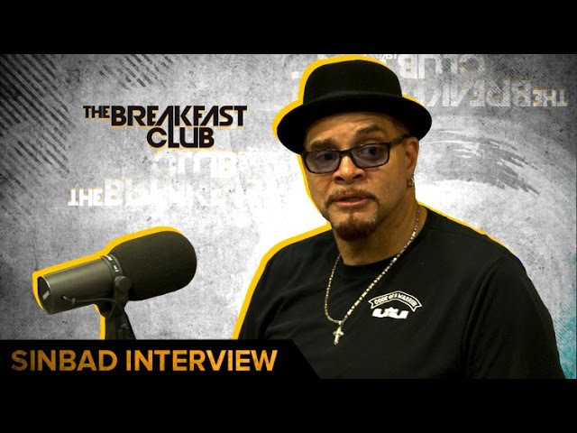 Sinbad Talks Area 51, NBA , Election Trump Running For President In 2020!