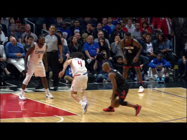 Chris Paul BREAKS Milos Teodosic's Ankles | Rockets vs Clippers | Jan 15, 2018 | 2017-18 NBA Season