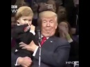 Trump fica maravilhado com previsão de garotinho para o Brasil