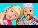 BAD BABY Born Doll Steals Chips and Candy Johny Johny Yes Papa Nursery Rhymes Songs for kids