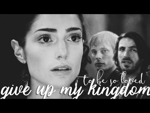 Morgana/arthur/mithian/gwai give up my kingdom (au)