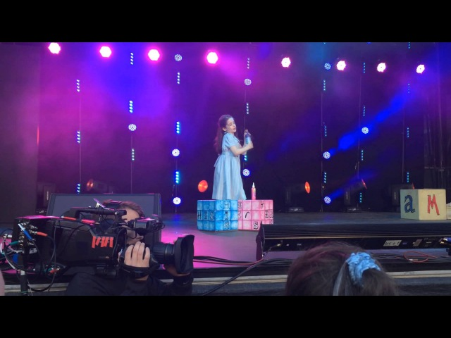 Matilda The Musical Olivier Awards Piazza Lollie Mckenzie Performing Naughty