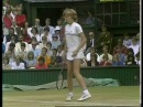 1984 Wimbledon 4th Round Steffi Graf vs Jo Durie Part 1