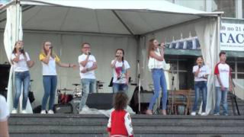 ЗВУКОГРАД День города Ольга Мишарина и ансамбль Новый проект