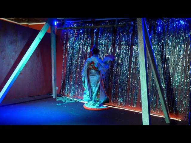 TENMA HARU REIKA Kinbaku Performance Live @ The Baltimore Japan Art Fest The Crown 4 5 2017