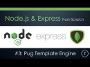 Express From Scratch Part 3 Pug Template Engine