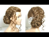 Updo Hairstyle For Long Hair Tutorial