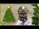 🎄 Прическа для девочки НОВОГОДНЯЯ ЕЛКА 🎄№ 4 | ОЧЕНЬ ПРОСТО |Какую прическу сделать на новый год?