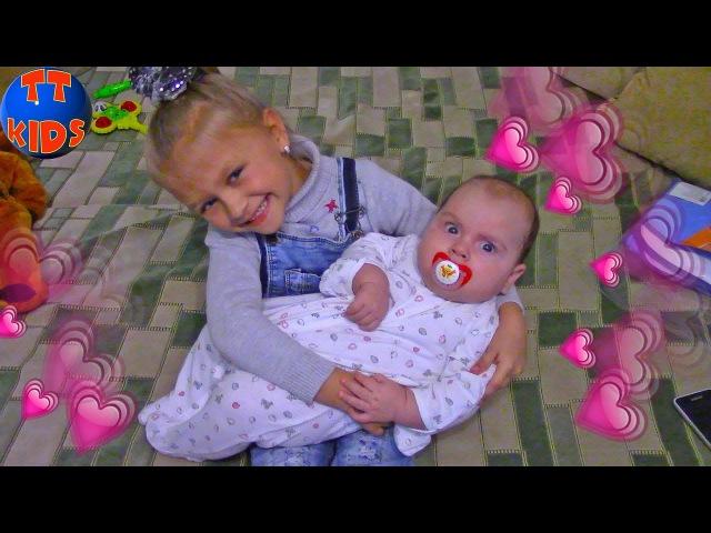 ВЛОГ Знакомства с братьями и сестрами Ярославы! МОЯ БОЛЬШАЯ СЕМЬЯ! Видео для детей