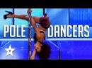 Jaw Dropping Pole Dancers On Got Talent Got Talent Global