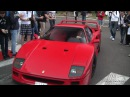 Ferrari F40 Burnout!