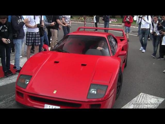 Ferrari F40 Burnout!