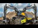 На что способен человек Невероятные машины, созданные людьми трактор, экскаватор,кран и другие в работе