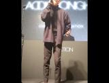 FANCAM Zion.T - The SongTalk part ADDICTION NIGHT (12.12.2017)