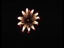184、四寸柱型银旋花入红拉手环4 inch cylindrical silver spinner flower to red crossette ring