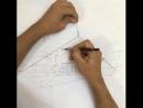 Линейка для рисования перспективы