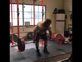 Дэн Грин - тяга в наклоне 200 кг