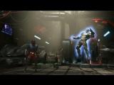 Геймплей за персонажа Атом в Injustice 2.