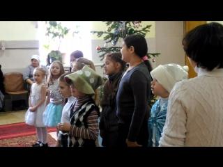 Детский Рождественский утренник в Крестовоздвиженском 2
