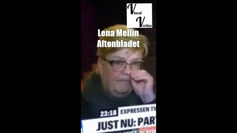 Lena Maria Mellin, Aftonbladet, äter snorkråka