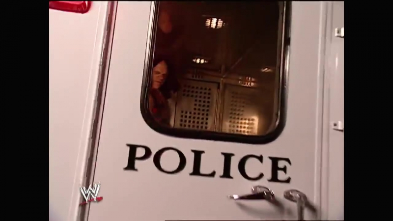 Kane Arrives At The Arena Raw 08.11.2003