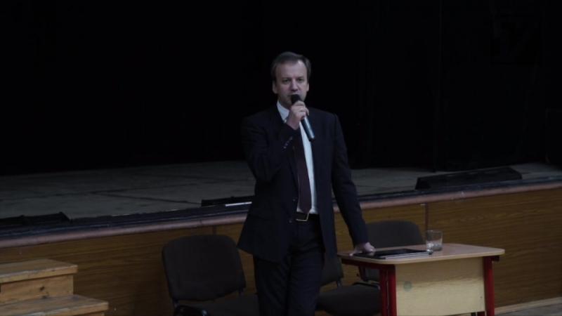 Сессия вопросов и ответов на открытой лекции А. Дворковича в 57 школе
