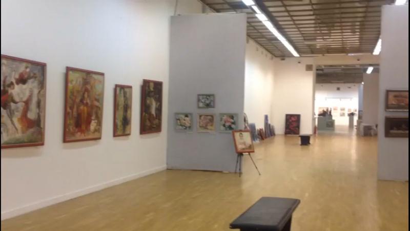 Игорь Жарков и Андрей Каравайцев Москва Выставка в ЦДХ