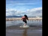Beach gains