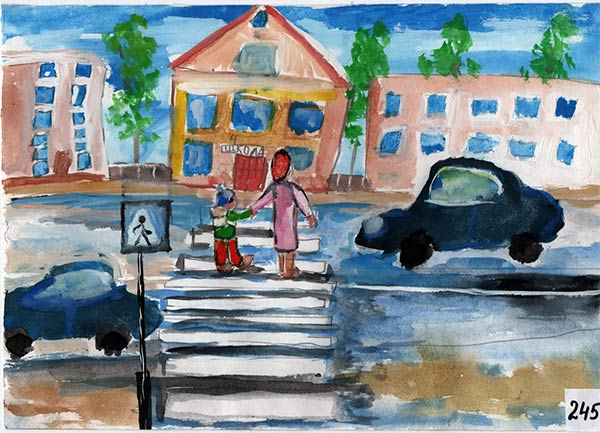 Семирічний новокаховчанин переміг у всеукраїнському конкурсі малюнку