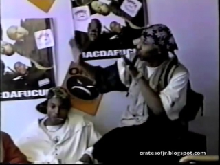Onyx - 1993 - interview with max from moonlight activities - speak about the ghetto in 93 during bacdafucup promo run