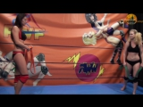 Viper vs Sesil. Female Wrestling. 3 matches (C026). Demo Clip
