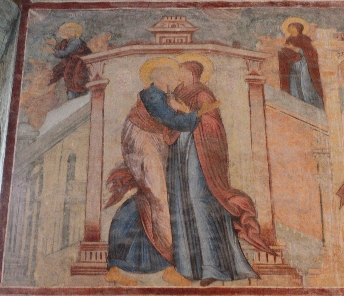 Встреча Захарии и Елизаветы
